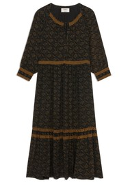 Ba&sh Bernie Dress - Carbon