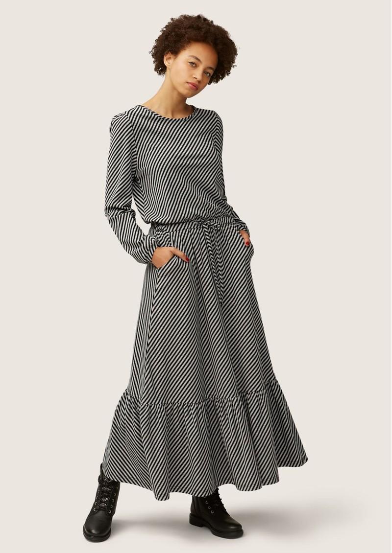NOOKI Melrose Jersey Cotton Dress - Stripe main image