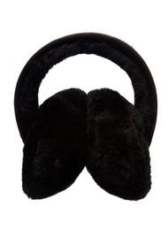 EMU Angahook Sheepskin Earmuffs - Black