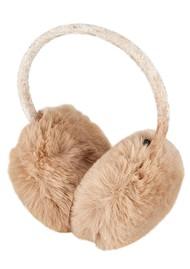 NOOKI Edie Faux Fur Earmuffs - Camel