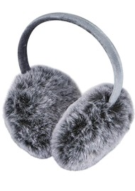 NOOKI Edie Faux Fur Earmuffs - Grey