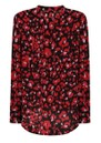 Stowe Silk Blouse - Leopard Ruby additional image