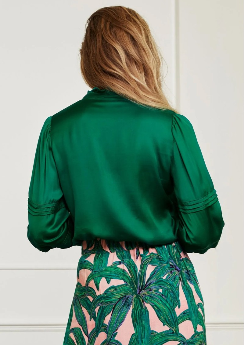 FABIENNE CHAPOT Elise Blouse - Emerald main image