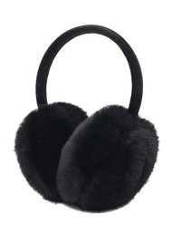 NOOKI Edie Faux Fur Earmuffs - Black
