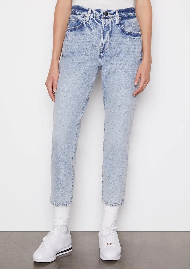 Frame Denim Le Original High Rise Slim Straight Leg Jeans - Richlake main image