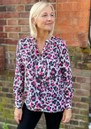 Stowe Silk Blouse - Leo Agate  additional image