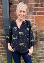 Clevedon Silk Blouse - Bengal Tiger additional image