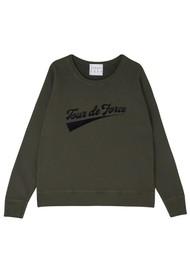JUMPER 1234 Tour De Force Cotton Sweater - Old Army