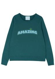 JUMPER 1234 Amazing Cotton Sweater - Bottle Green