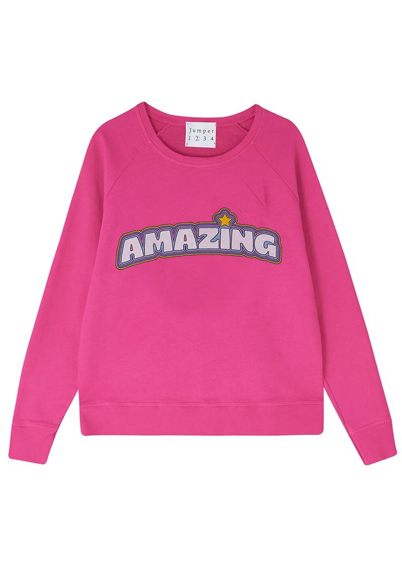 JUMPER 1234 Amazing Cotton Sweater - Pink main image