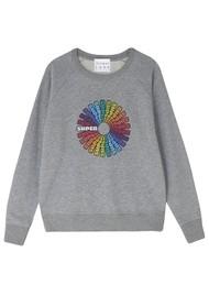 JUMPER 1234 Super Cotton Sweater - Mid Grey
