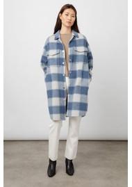 Rails Jaro Wool Mix Coat - Blue Buffalo