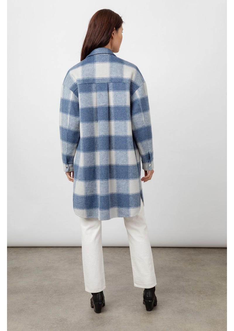 Rails Jaro Wool Mix Coat - Blue Buffalo main image