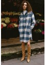 Jaro Wool Mix Coat - Blue Buffalo additional image
