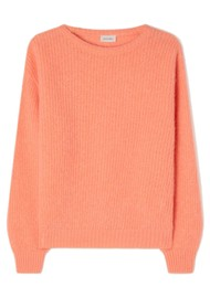 American Vintage Rozy Knitted Jumper - Peach