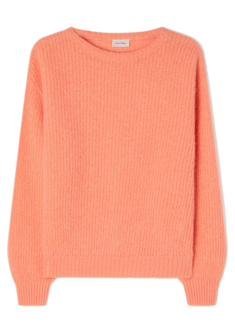American Vintage Rozy Knitted Jumper - Peach main image