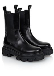 SHOE BIZ COPENHAGEN Uma Leather Boots - Black