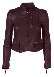 MDK Rucy Leather Jacket - Port Royale