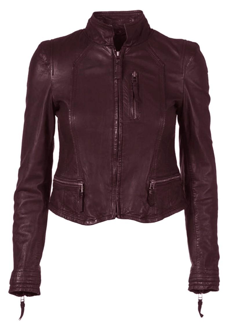 MDK Rucy Leather Jacket - Port Royale main image