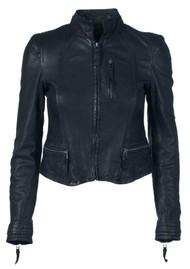 MDK Rucy Leather Jacket - Mood Indigo