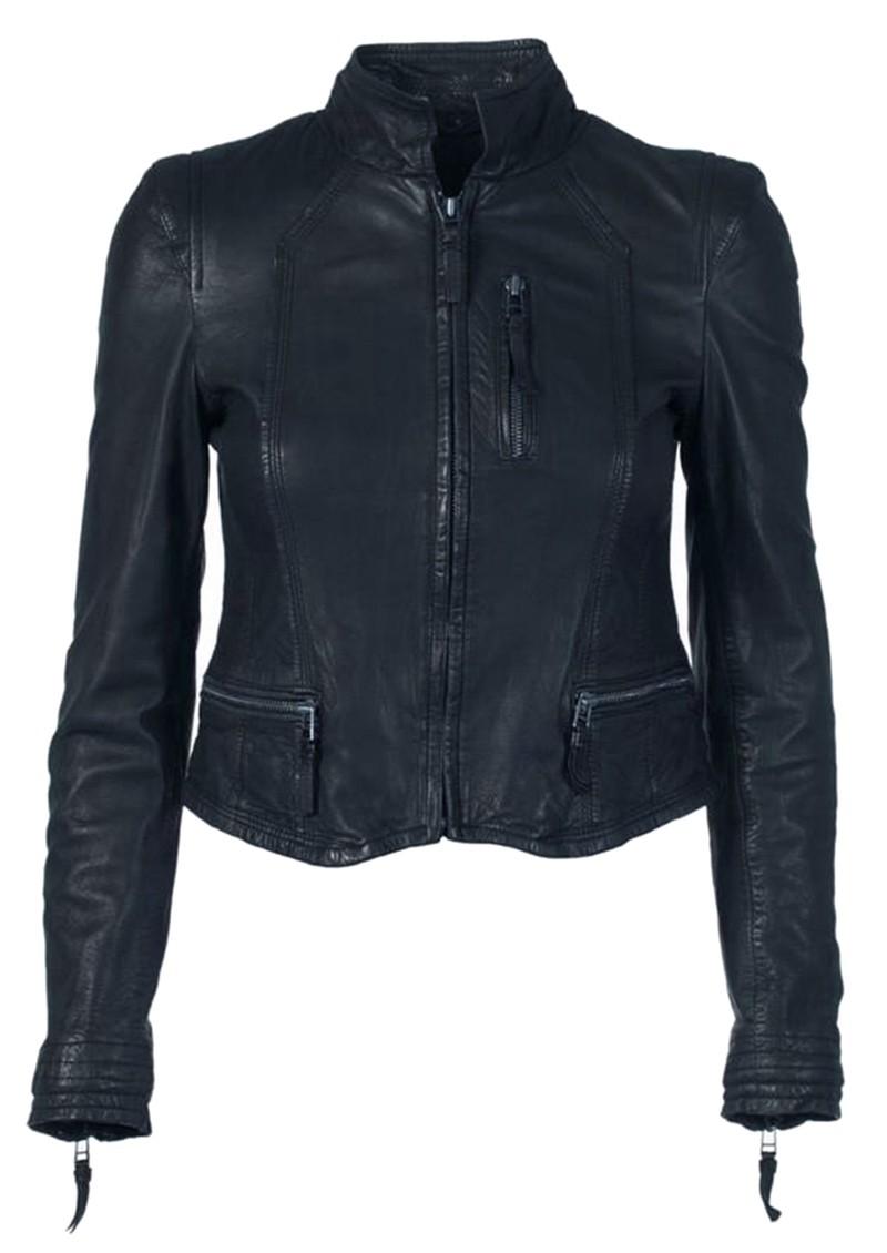 MDK Rucy Leather Jacket - Mood Indigo main image