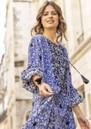 Wonder Printed Maxi Dress - Texan Blue additional image