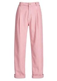 ESSENTIEL ANTWERP Ashtonishing Cotton-Corduroy Trousers - Oink Pink