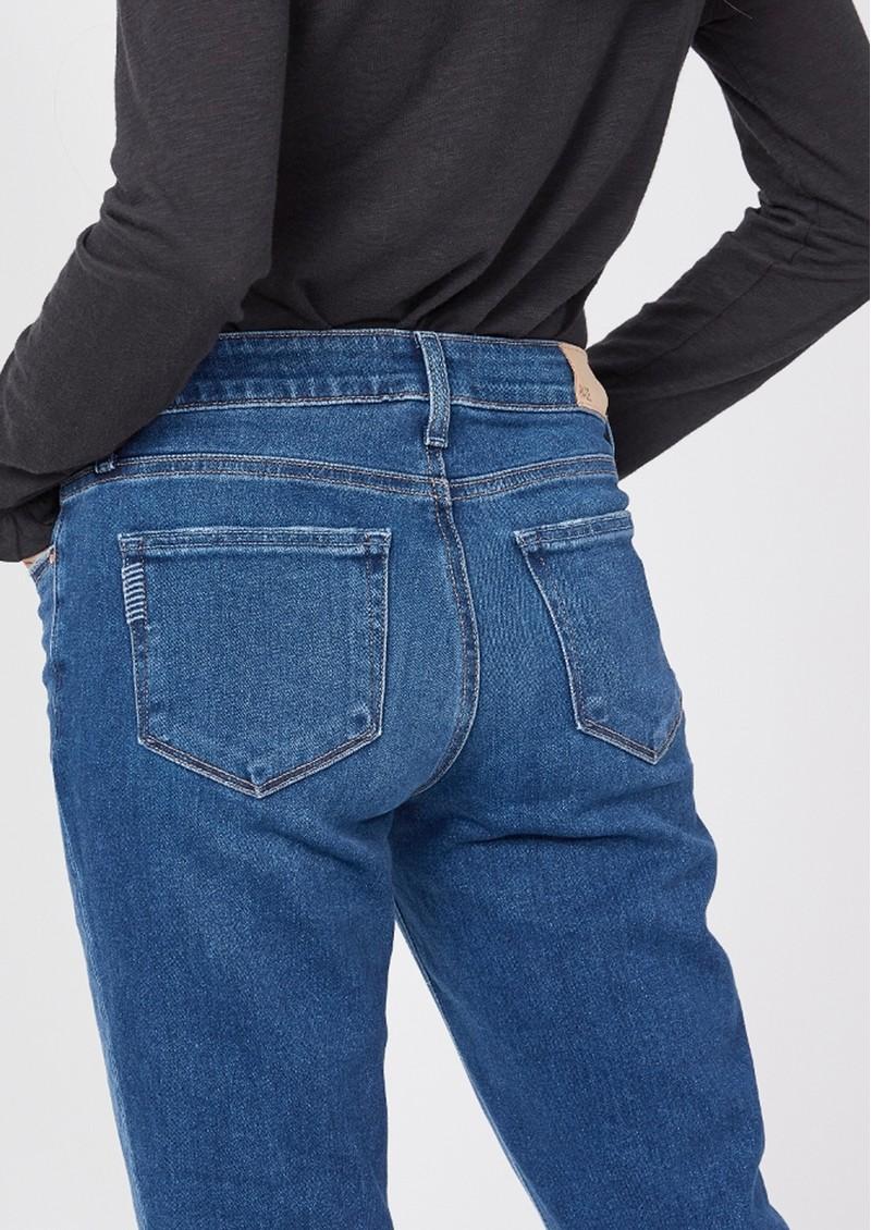 Paige Denim Brigitte Mid Rise Slim Fit Boyfriend Jeans - Roam main image