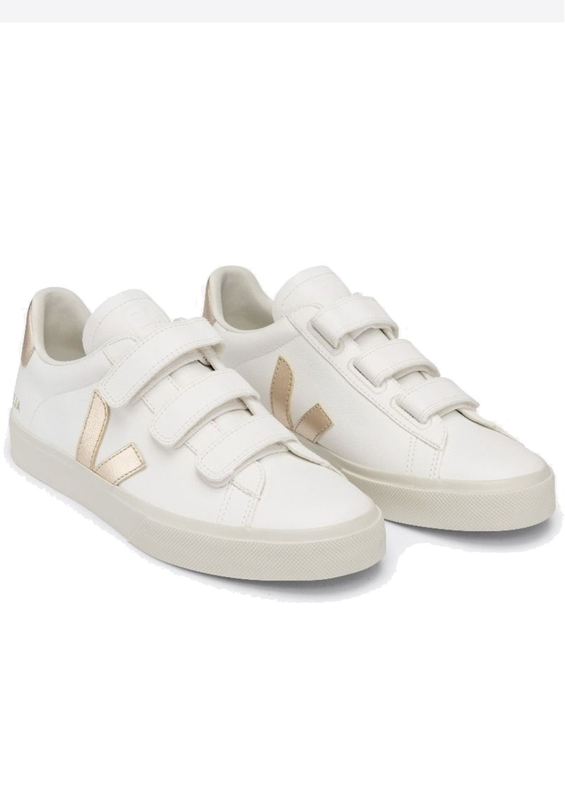 VEJA Recife Leather Trainers - Extra White & Platine main image