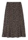 Lottie Printed Skirt - Floral Leopard Black additional image