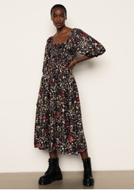 Lily and Lionel Matilda Dress - Floral Black