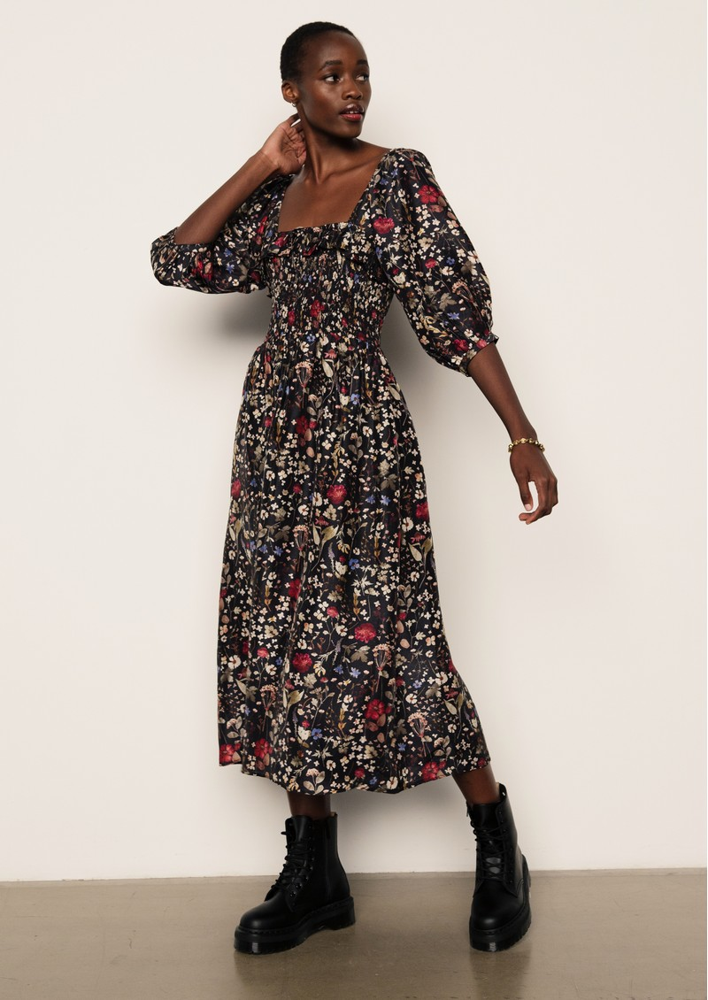 Lily and Lionel Matilda Dress - Floral Black main image