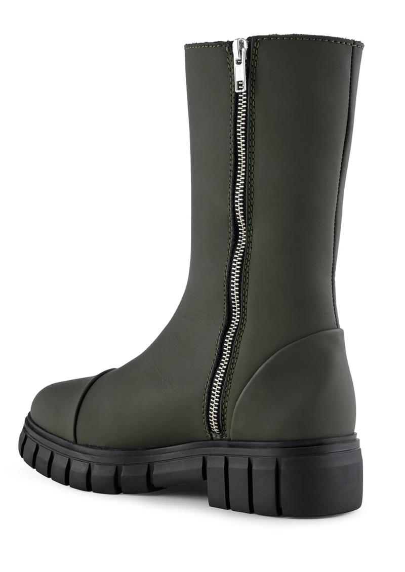 SHOE THE BEAR Rebel High Shaft Leather Boots - Khaki main image