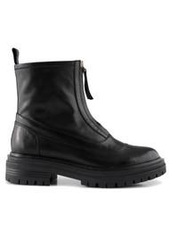 SHOE THE BEAR Franka Zip Leather Boots - Black