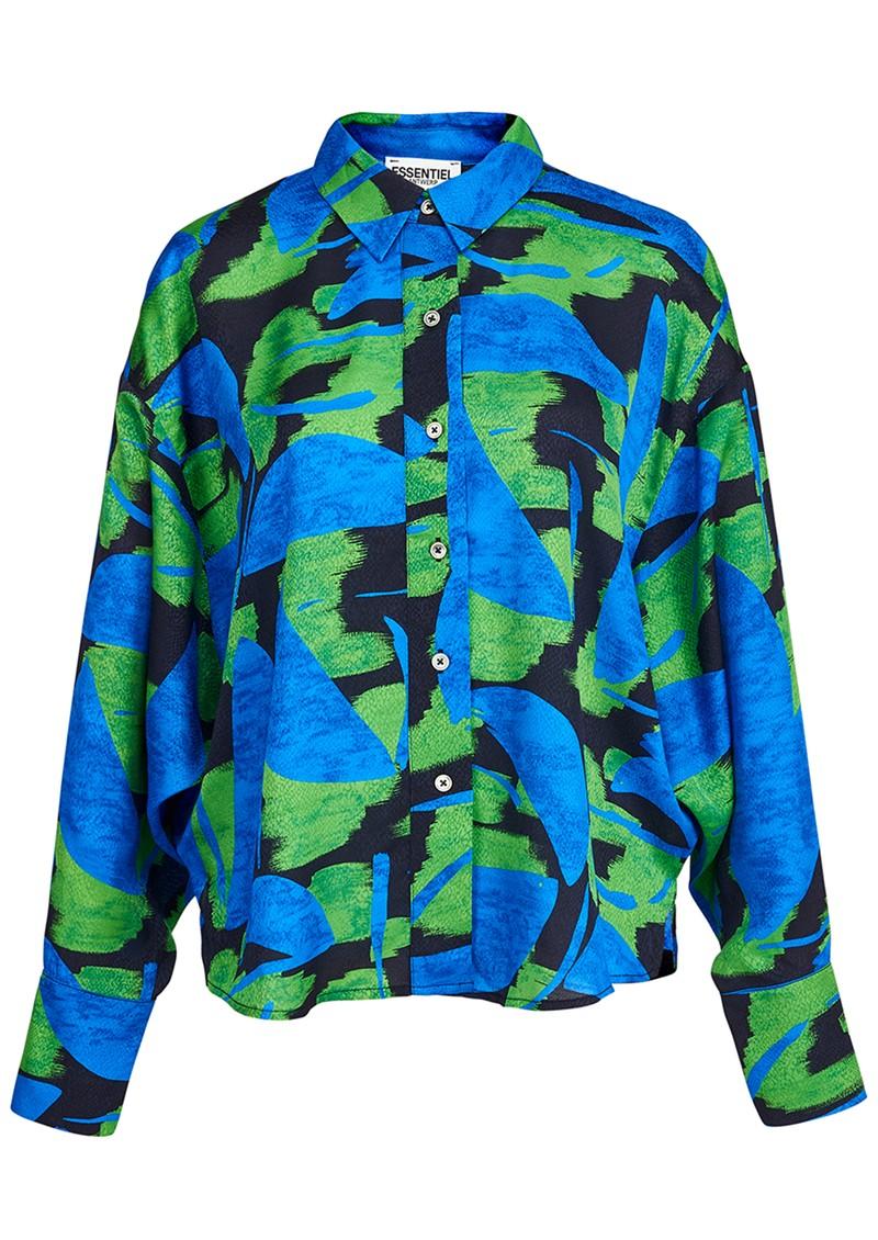 ESSENTIEL ANTWERP Acquire Printed Shirt - Klein Blue main image