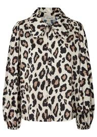 LOLLYS LAUNDRY Luke Printed Shirt - Leopard