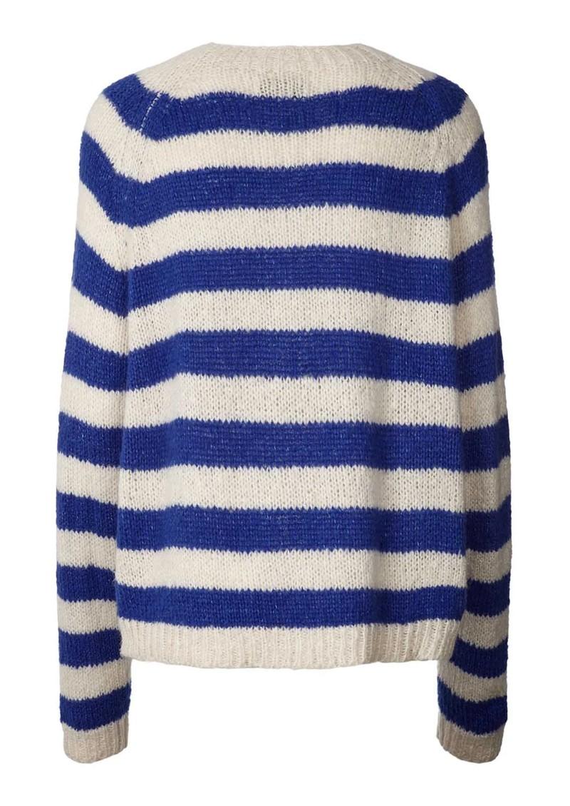 LOLLYS LAUNDRY Jobel Knitted Jumper - Neon Blue main image