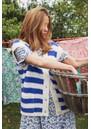 Celine Knitted Vest - Neon Blue additional image