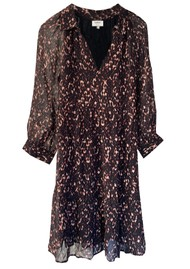 Ba&sh Pola Printed Dress - Black