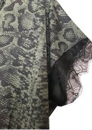 Rosemunde Billie Lace T-Shirt - Dark Pine Snake