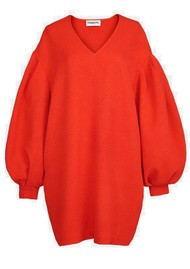 ESSENTIEL ANTWERP Ablurred Dress - Coral Queen