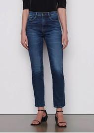 Frame Denim Le Sylvie High Rise Straight Leg Jeans - Caribou