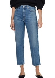CITIZENS OF HUMANITY Marlee High Rise Relaxed Taper Jeans - Dimple