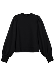MAYLA Olive Top - Black