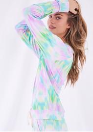 STRIPE & STARE Essential Sweatshirt - Pastel Ikat