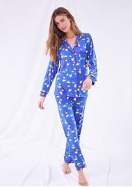 STRIPE & STARE Tatiana Pyjama Set - Stars & Moon