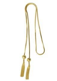 PAJAROLIMON Sumi Lariat Necklace - Gold