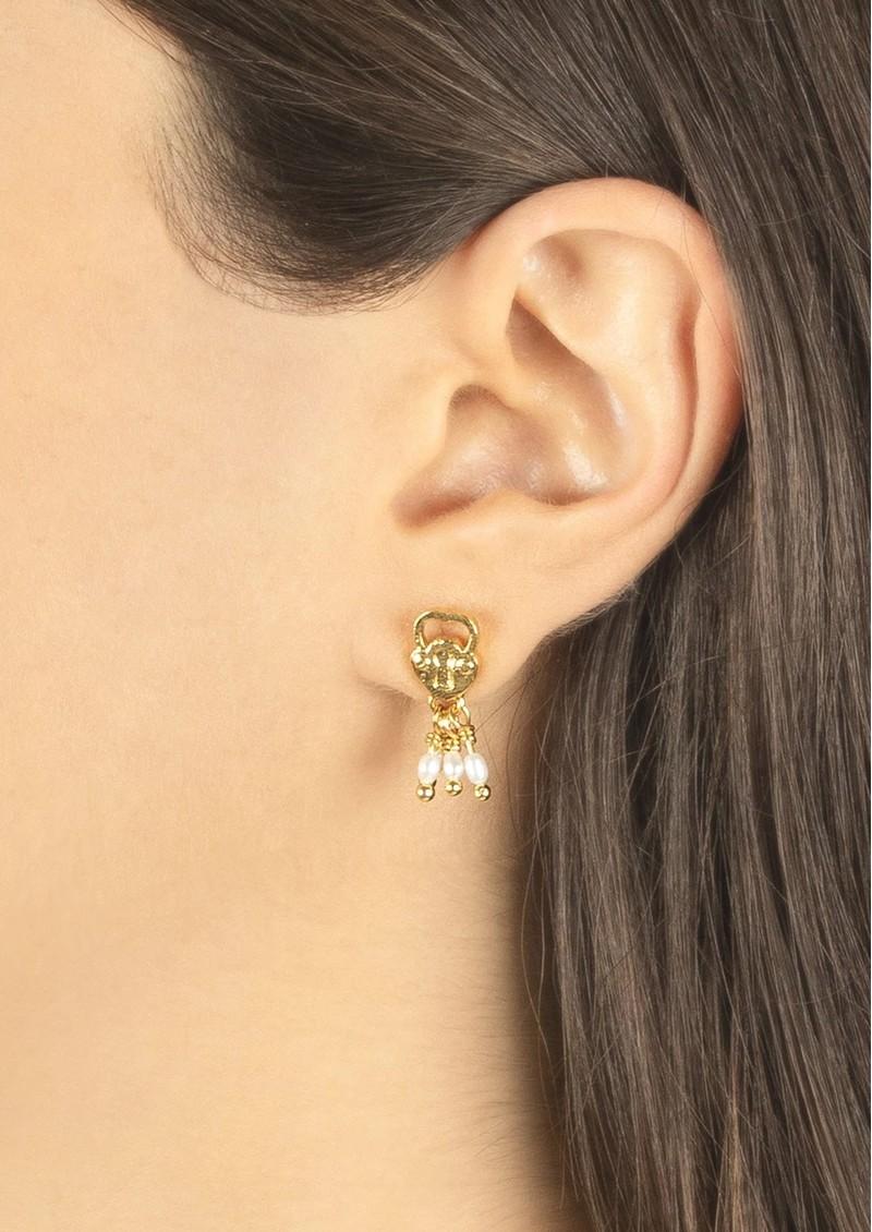 PAJAROLIMON Naboo Earrings - Gold main image
