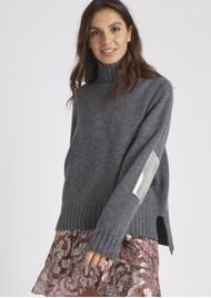 BERENICE Albin Merino Wool Pullover - Heather Grey
