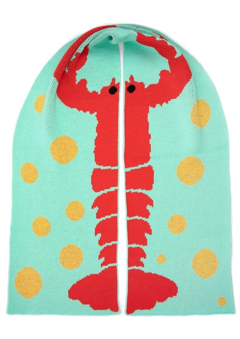 MISS POM POM Lobster Scarf X Tatty Devine main image